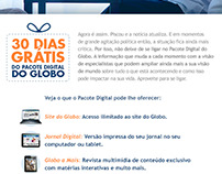 E-mail do Pacote Digital
