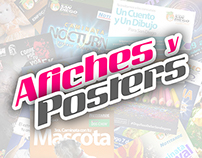 Afiches y Posters
