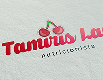 Logotipo - Tamiris Lage Nutricionista