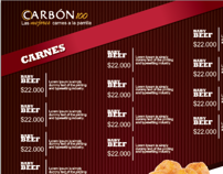 Menu Carbon 100 Xilvestre