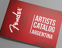Fender Argentina Artists Catalog