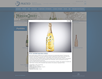 Pernod Ricard Training website done in Umbraco