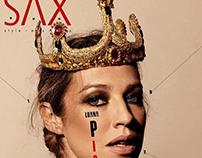 Capa Revista Sax com Luana Piovani
