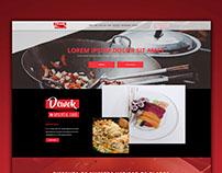 Landing page - Dewok Oriental food