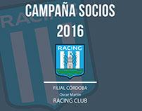 Campaña SOCIOS 2016