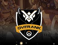 Overank | Overwatch - Mockup mídias sociais