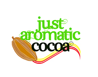 Logo to Just Aromatic Cocoa Company.