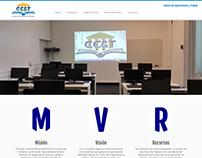 Arreglos a pagina web de ccyt