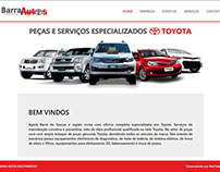 Website Barra Autos