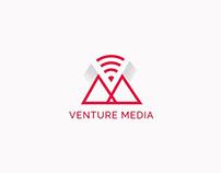 VENTURE MEDIA: Animación de Logo