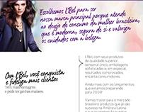 #Web Design - E-mail Marketing L'Bel