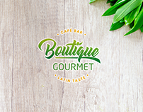 Boutique Gourmet: Logo and Brand Identity Stylescape