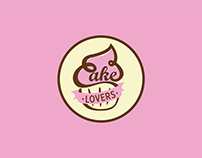 Cake Lovers - Rediseño de Logotipo y Diseño Impreso