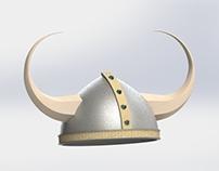 Chapéu Viking 3D