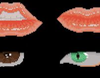 Pixel Art Study - Face details