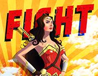Wonder Woman Motivational Poster