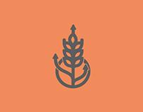 Projeto logos agrários.