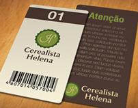 Cerealista Helena - Redesign de marca