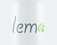 Lemomn \ isologo + packaging design by Jaime Claure