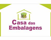 Logotipo Casa das Embalagens