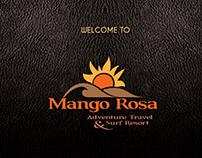 Menu & Business Card for Mango Rosa Nicaragua
