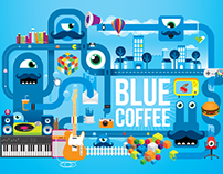 Blue Coffee (branding)