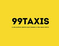 99Taxis: Campanha Pintando a Cidade de Amarelo
