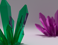 Crystals (3D modeling)