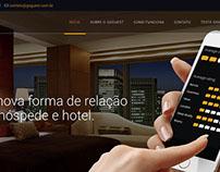 Criação/Adaptação de website institucional para aplicat