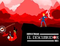 ILUSTRACIÓN: EL DESCUBRIDOR - CUENTOS DE TERRAMAR