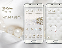 White Pearl Theme for Samsung Galaxy