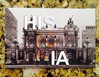 cartão postal/ teatro municipal de são paulo