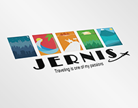 Logotipo Jernis Travel