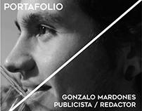 Portafolio -Trabajos U (Redactor - Publicista)