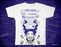 15 Year Birthday • T-Shirts Designs