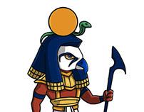 Egyptian Gods Concept Art