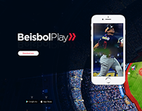 Beisbol Play - Ads, Graphic image for social networks.