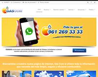 Página Web GasCom