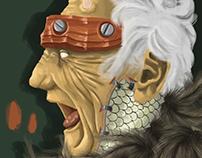 Old Man - Pinceles Photoshop