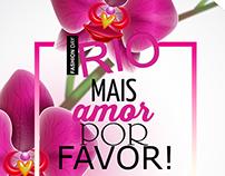 Material de Divulgação - Rio Fashion Day
