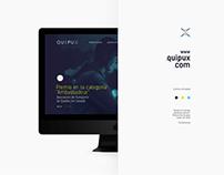 Sitio web Quipux