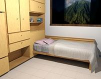 Dormitorio multi usos