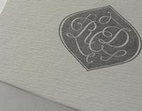 Romina Carla Diego - Calligraphic logotype