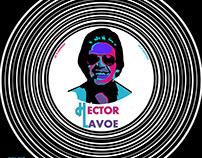 Rediseño de la portada del disco de hector lavoe