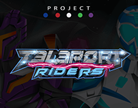 Teleport Riders - Comic Book Project