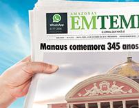 Aniversário de Manaus - Amazonas Em Tempo