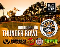 Inauguração Thunder Bowl