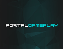 PORTALGAMEPLAY - Logo Design