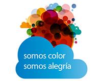 """""""somos color somos alegría"""""""