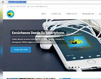 Web design, social networks, Sun 91 Fm